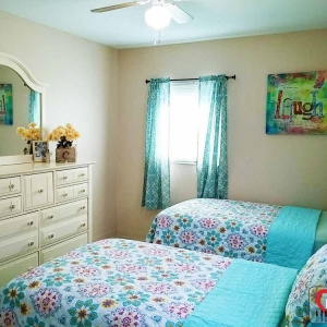 This is one of the semi-private rooms at Big Heart Group Home In Tampa Florida. http://www.bigheartservices.com