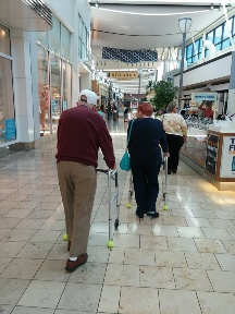 We Provide Companion Care in Tampa - A trip to the mall can be just what you need.
